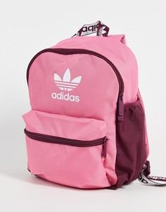 Розовый маленький рюкзак adidas Originals adicolor-Розовый цвет