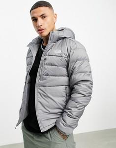 Серая куртка скапюшоном The North Face Aconcagua2-Серый