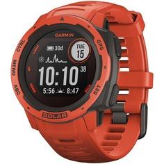 Смарт-часы Garmin Instinct Solar Flame Red (010-02293-20)