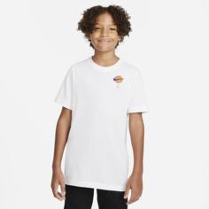 Футболка для тренинга для школьников Nike Dri-FIT x Space Jam: A New Legacy - Белый