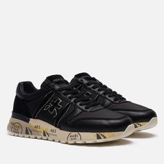 Мужские кроссовки Premiata Lander 5363, цвет чёрный, размер 46 EU