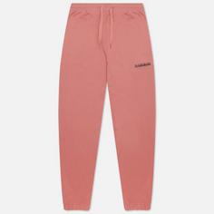 Мужские брюки Napapijri Box, цвет розовый, размер M