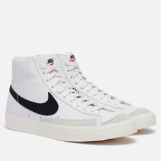 Мужские кроссовки Nike Blazer Mid 77 Vintage, цвет белый, размер 37.5 EU