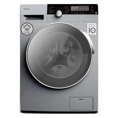 Стиральная машина WEISSGAUFF WM 5649 DC Inverter Steam Silver, фронтальная, 9кг, 1400об/мин