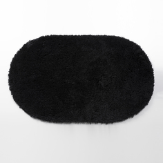 Коврик для ванной WasserKRAFT Dill чёрный 60х100 см