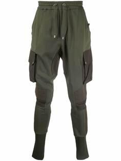 Balmain спортивные брюки с карманами