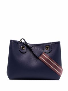 Emporio Armani сумка-тоут с тисненым логотипом