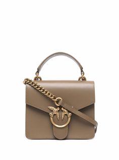 Pinko сумка-тоут с декором Love