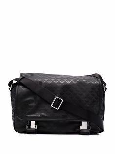 Emporio Armani сумка через плечо с монограммой