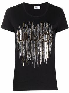 LIU JO футболка с логотипом