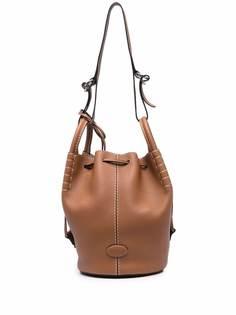 Tods сумка-ведро с ремешками Tod'S
