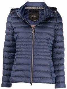 Geox расклешенная куртка-пуховик
