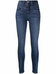 Calvin Klein Jeans укороченные джинсы скинни с завышенной талией
