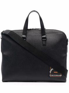 Karl Lagerfeld портфель из сафьяновой кожи с логотипом