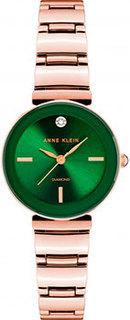 fashion наручные женские часы Anne Klein 2434GNRG. Коллекция Diamond