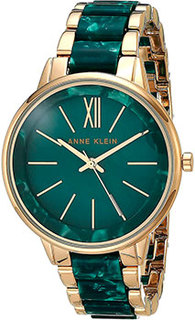 fashion наручные женские часы Anne Klein 1412GNGB. Коллекция Plastic