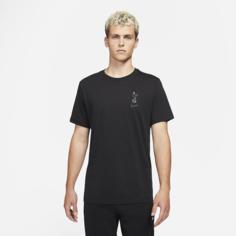 Мужская игровая футболка Tottenham Hotspur - Черный Nike