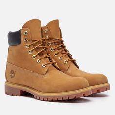 Мужские ботинки Timberland 6 Inch Premium Waterproof, цвет коричневый, размер 44 EU