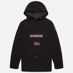 Мужская куртка анорак Napapijri Skidoo 3, цвет чёрный, размер L