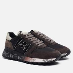 Мужские кроссовки Premiata Lander 4951, цвет коричневый, размер 41 EU