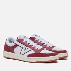 Мужские кроссовки Vans Lowland CC Freshman, цвет бордовый, размер 42.5 EU
