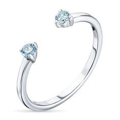 Кольцо из золота э0912кц09190350_blue ЭПЛ Якутские Бриллианты