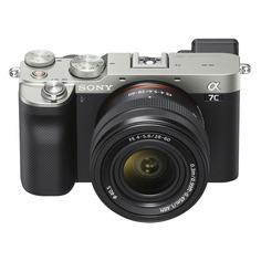 Цифровой фотоаппарат Sony Alpha a7C, серебристый [ilce7cls.cec]