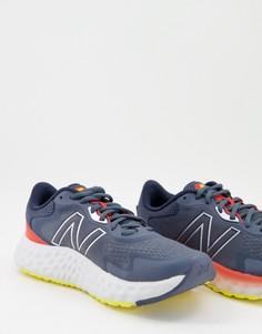 Синие кроссовки New Balance Running Fresh Foam EVOZ-Черный