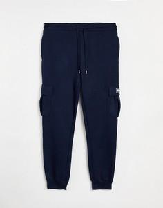 Темно-синие джоггеры с карманом в стиле карго и логотипом Bench-Темно-синий