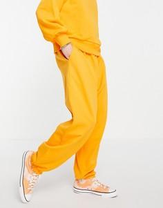 Ярко-оранжевые джоггеры в стиле oversized с карманом (от комплекта) ASOS DESIGN-Оранжевый цвет