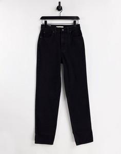 Черные прямые джинсы в стиле 70-х Levis-Черный цвет