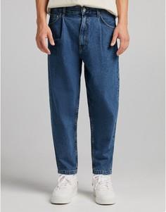 Синие джинсы Bershka-Голубой