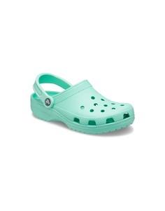 Классические кроксы фисташкового цвета Crocs-Зеленый цвет