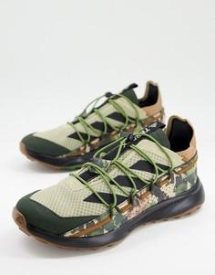 Зеленые кроссовки с камуфляжным принтом adidas Terrex Voyager 21-Зеленый цвет