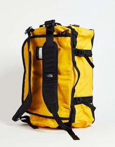 Желтая спортивная сумка The North Face Base Camp - 50 л-Желтый