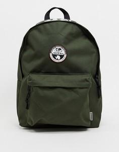 Зеленый рюкзак Napapijri Happy Dayback-Зеленый цвет