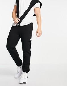 Черные джоггеры с карманом в стиле карго и логотипом Bench-Черный цвет