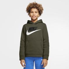 Худи для школьников Nike Sportswear Club Fleece - Зеленый