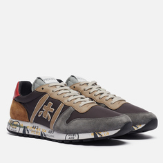Мужские кроссовки Premiata Eric 5371, цвет серый, размер 45 EU