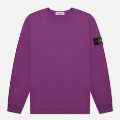 Мужская толстовка Stone Island Classic Crew Neck Lightweight Cotton, цвет фиолетовый, размер S