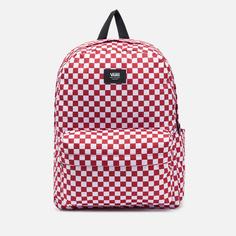 Рюкзак Vans Old Skool Check, цвет красный