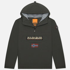 Мужская куртка анорак Napapijri Rainforest Winter 2, цвет серый, размер XL