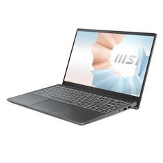 """Ноутбук MSI Modern 14 B11MOU-452RU, 14"""", IPS, Intel Core i5 1135G7 2.4ГГц, 8ГБ, 512ГБ SSD, Windows 10, 9S7-14D314-452, темно-серый"""