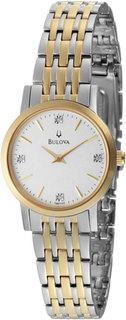 Женские часы в коллекции Diamond Женские часы Bulova 98P115