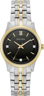 Женские часы в коллекции Diamonds Женские часы Bulova 98P196