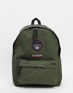 Зеленый рюкзак Napapijri Voyage-Зеленый цвет