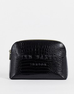 Черный клатч Ted Baker Crocala-Черный цвет