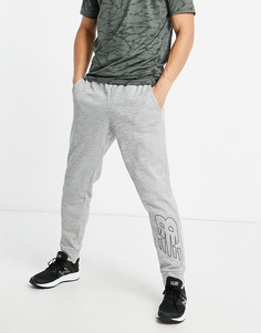 Серые джоггеры с логотипом New Balance Tenacity-Серый