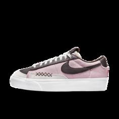 Женские кроссовки Nike Blazer Low Platform - Розовый
