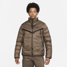 Мужская двусторонняя куртка Nike Sportswear Therma-FIT Repel - Коричневый